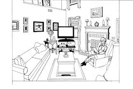 dining room printable art. Dining Room Coloring Pages Printable Art
