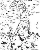 Small Picture Claude Monet coloring pages Free Coloring Pages
