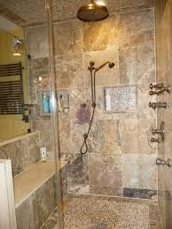 best way to clean bathroom tile. Fabulous Textured Bathroom Wall Tiles For Small Space With Copper Finished Shower Head And Glass Enclosure. Tiles: The Best Way To Clean Tile R