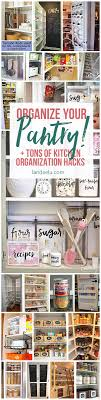Kitchen Organize Kitchen Organization Ideas And Hacks Landeelucom