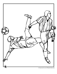Small Picture Soccer Coloring Page Woo Jr Kids Activities