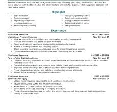 Warehouse Worker Resume Template Best of Warehouse Worker Resume Sample Warehouse Worker Resume Sample