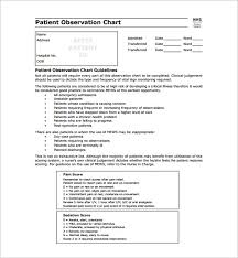 Medical Chart Note Templates 9 Patient Chart Templates Free Sample Example Format Download