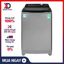Trả góp 0%]Máy giặt Aqua 10Kg AQW-FR100ET(S) 2020 Tốc độ quay vắt:660  vòng/phút Nắp máy trợ lực chống kẹt tay Khóa trẻ em Tự khởi động lại khi có  điện Vệ sinh