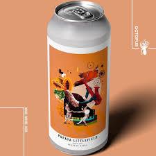 Cerveja artesanal Papaya Littlefield – Octopus 473ML