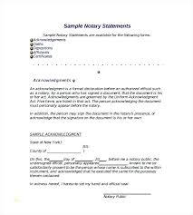 Official Documents Template Notary Letter Template Sample Document Form Attestation Free