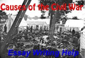 essay paper on causes of the civil war