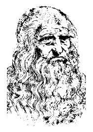 Disegno Da Colorare Leonardo Da Vinci Su Educolorit Illustrazione