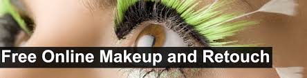 free makeup retouch blemish removal and all face and skin lifting and coloring