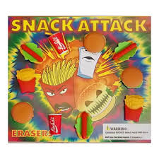 Snack Attack Vending Machine Beauteous Snack Attack Erasers 48inch Toy Filled Capsules