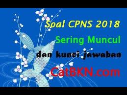 Jadwal cpns 19 september 2018 pendaftaran sscn.bkn.go.id Soal Cpns 2018 Sering Muncul Dan Kunci Jawaban Youtube
