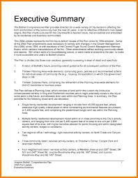 Executive Summary Example Apa Format Maggi Hub Rural Co Regarding