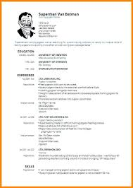 bad resume format 8 best of resume format template pdf smart site