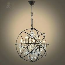 crystal pendant lights hanging lovely lighting iron chain cage black industrial lamp for kitchen isl crystal pendant lights ball singapore