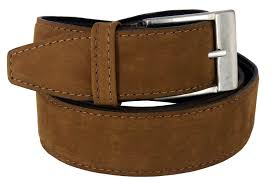 Light Brown Leather Belt Mens Belt For Jeans Suede Leather Tan Light Brown Suede Wide 1 50 M L Xl Classic Fashionable Cool Man By Xeebest
