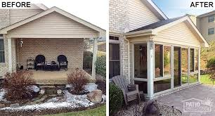four season rooms before after photos