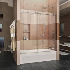 image of new bathtub shower doors