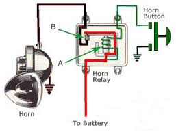 horn relay [archive] trifive com, 1955 chevy 1956 chevy 1957 chevy 76 Chevy Truck Wiring Diagram at Wiring Diagram For Alternator Chevy 1976 Truck