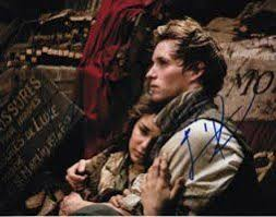 best les miserables images eddie red ne eddie red ne and samantha barks signed in person les miserables 8x10 photo found on endorfyn