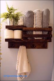 towel hanger ideas. Bath Towel Shelf Bathroom Wood Rack Hook Hanger Ideas