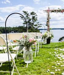 garden vintage rustic wedding decorations