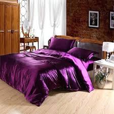 comforter sets silk bedding luxury comforter sets king size bedding duvet set purple king