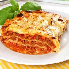 """Résultat de recherche d'images pour """"Lasagnes au viande hachée et jambon"""""""