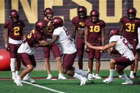 Gophers Release First Depth Chart Ahead Of Thursdays Season