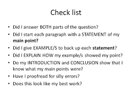 starting an essay a question easy ways to start a college  romeo and juliet by william shakespeare essay question describe check list did i answer both parts