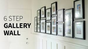 Wall Design Photos Gallery How To Create A Gallery Wall In 6 Steps
