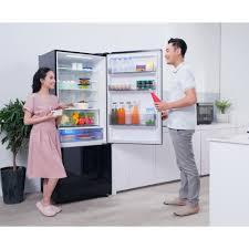 Tủ Lạnh 2 Cánh Panasonic 420 lít NR-BX471WGKV ngăn đá dưới - Ngăn đông mềm  siêu tốc - BH chính hãng 2 năm - Tủ lạnh