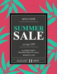 Sales Flyers Template 9 510 Customizable Design Templates For Summer Sale Postermywall