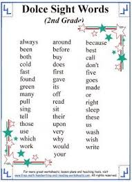 behavior list sight words list behavior activities pinterest sight words