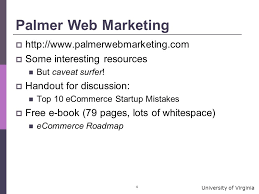 university of virginia business topics and e commerce some on  4 university
