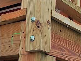 deck corner post building a installing handrail detail deck corner post r67