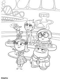 Small Picture Free Printable Inside Out Coloring Pages Earlymomentscom