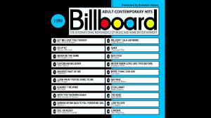 Billboard Music Charts 1980 Billboard Top Ac Hits 1980 2016 Full Album In 2019 Pop