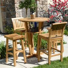 cool garden furniture. Dining Room : Beautiful Teak Furniture Collection Outdoor Bar Stool Design Ideas With Cool Round Table Plus 1 Elegant Chair And 2 Garden