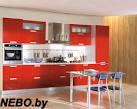 Кухни красные дизайн фото