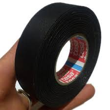 tesa 51025 19mm x 25m adhesive cloth fabric tape cable looms image is loading tesa 51025 19mm x 25m adhesive cloth fabric