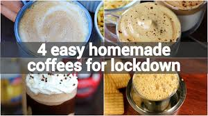 Just a few simple additions to your favorite coffee makes a cozy warm cocktail. 4 Easy Homemade Coffee Recipes For Lockdown Instant Coffee Recipes Lockdown Beverage Recipes Youtube