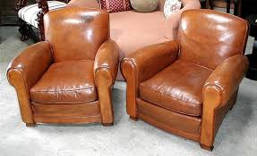 french leather club chairs vintage humpback pair item vintage leather club chair australia