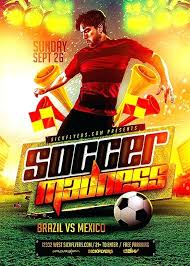 Soccer Poster Template – Cashinghotniches.info