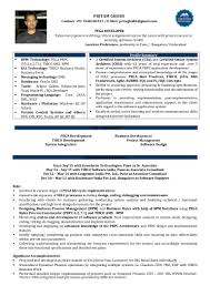 Pega Architect Resume Free Resume Example And Writing Download