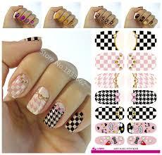 Aliexpress.com : Buy Fashion Nails Art Sticker Colored Bright ...