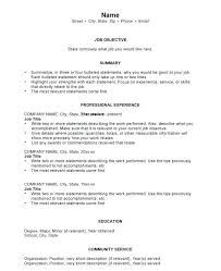 How To Make Resume For Job Inspiration Make A New Resume Resume Current Job Harmonious Work Resume Examples