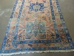 6 of 12 3 7 x 14 antique hand made persian karajeh heriz serapi wool rug