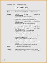 Spanish Resume Template Stunning Resume For Sales Manager Inspirational Resume Template High School