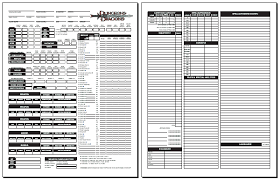 dnd 3 5 character sheet 2nd edition character sheet pdf blackmoors d d 3 0 character