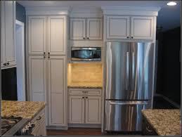 Kitchen Cabinets Refrigerator Kitchen Cabinets Around Refrigerator